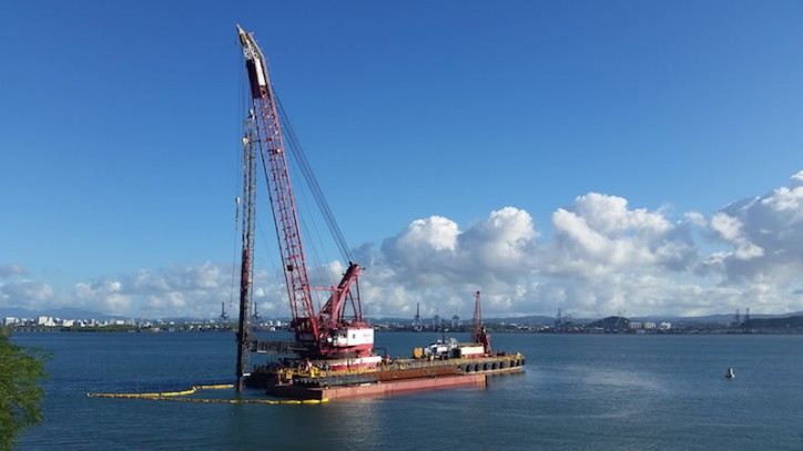 Crowley breaks ground on pier and terminal project in Puerto Rico
