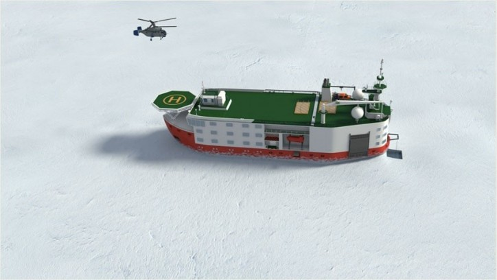 Russia starts development of €100 million North Pole research platform