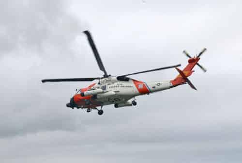 US Coast Guard assists in rescue of five people from sunken vessel near Dutch Harbor