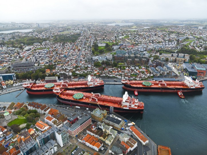 New Shuttle Tanker Contract of Affreightment to Operate in the North Sea