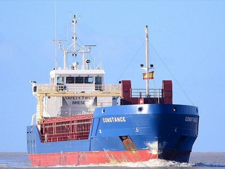 Gibraltar-Registered Cargo Ship Constance Rescues 235 Refugees