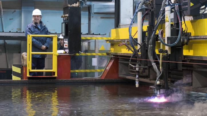 Fincantieri Shipyard starts works on the first multipurpose offshore patrol ship