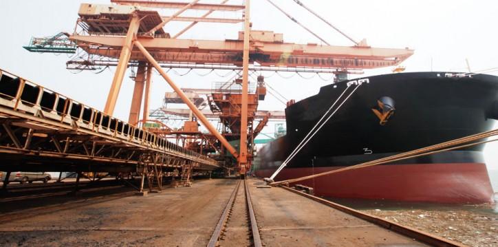 Largest Iron Ore Shipment Departs Port Hedland, Australia