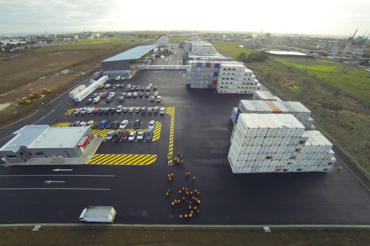 Maersk opens new container depot