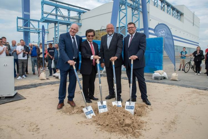 MV WERFTEN holds groundbreaking ceremony for new shipbuilding hall