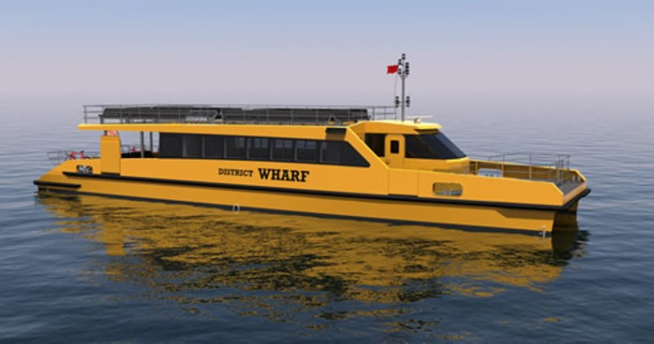 BMT Wins Design Contract for Four US Commuter Ferries
