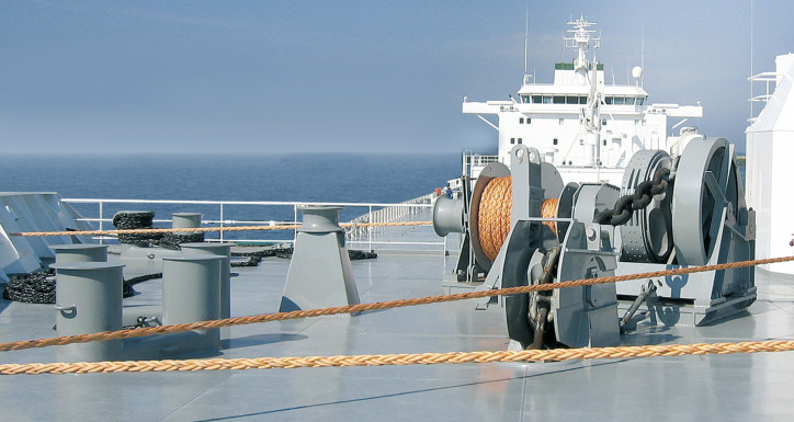 Further MacGregor deck machinery destined for heavy-duty naval operations