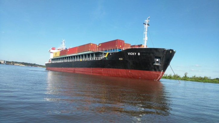Boluda Lines adds new vessel VICKY B to consolidate river transport on Paraná-Paraguay Waterway