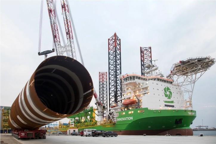 DEME Offshore announces Moray East wind farm Tier One suppliers