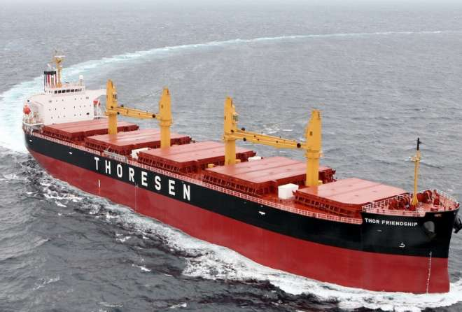 Thoresen announces improved first quarter results: Challenges remain