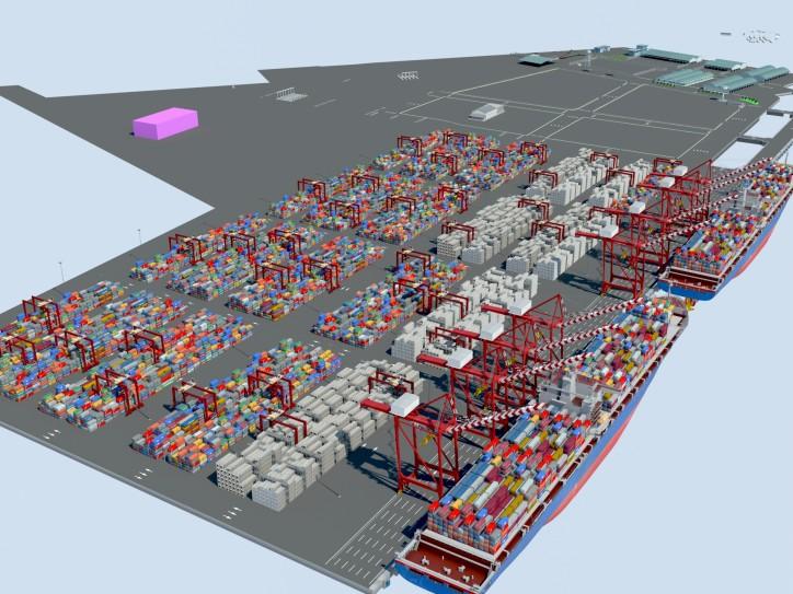 Ecuador's First Deep Sea Terminal YILPORT Puerto Bolívar Ordered 6 New STS and 18 E-RTG Cranes