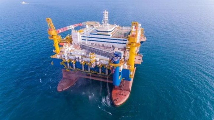OOS Tiradentes semi-submersible accommodation vessel delivered in Yantai