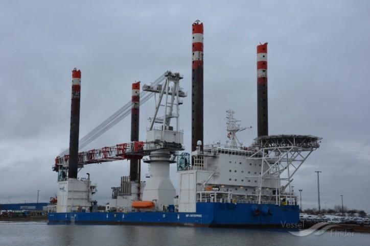 Offshore Support Vessel MPI Enterprise completes Nordergünde turbine installation campaign