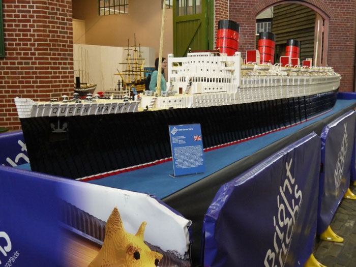 Biggest Lego Ship In The World Put On Display Maritime News - Biggest lego ship