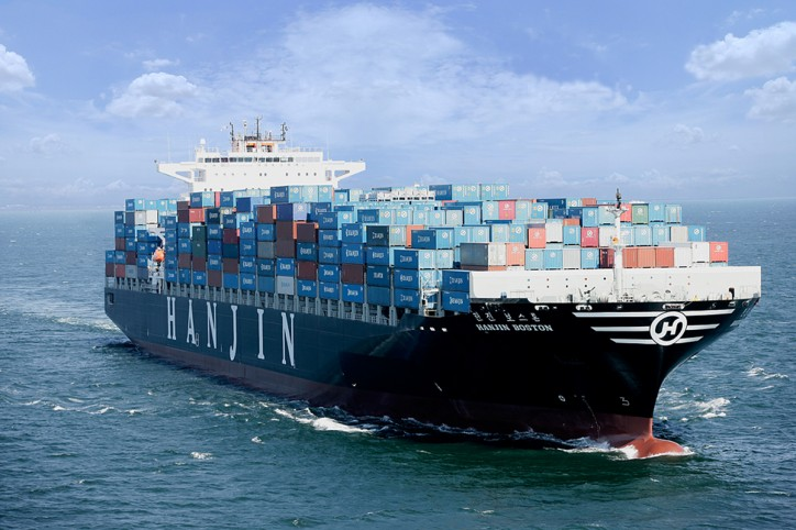 Hanjin Shipping to remove two 13,000 teu boxships from Asia-Europe lane
