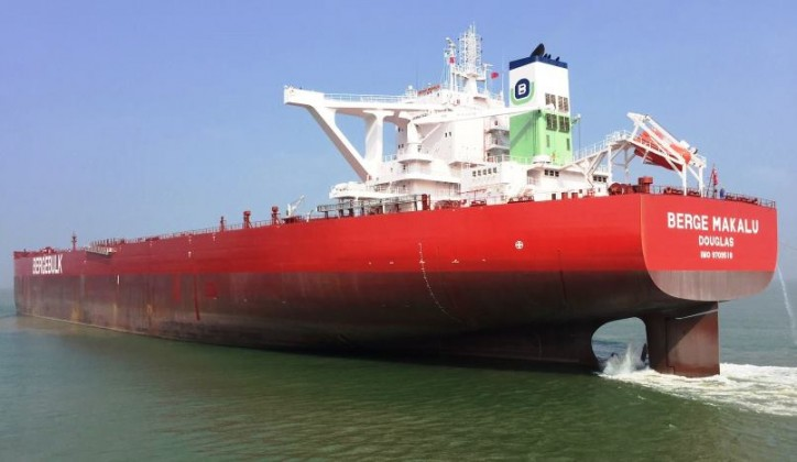 Berge Bulk takes delivery of New 262,000-dwt Dry Bulker