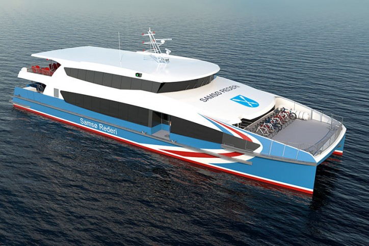 Incat Crowther Ferry for Samso Rederi