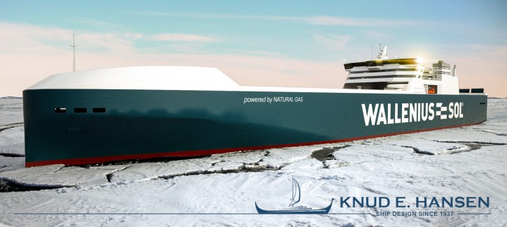 New LNG-powered RoRo Vessels for Wallenius-SOL Designed by KNUD E. HANSEN
