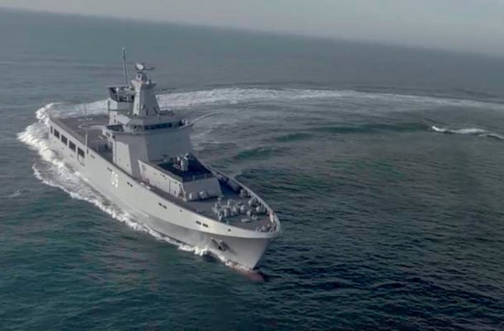 L3 awarded a contract for the Australian Offshore Patrol Vessel Program