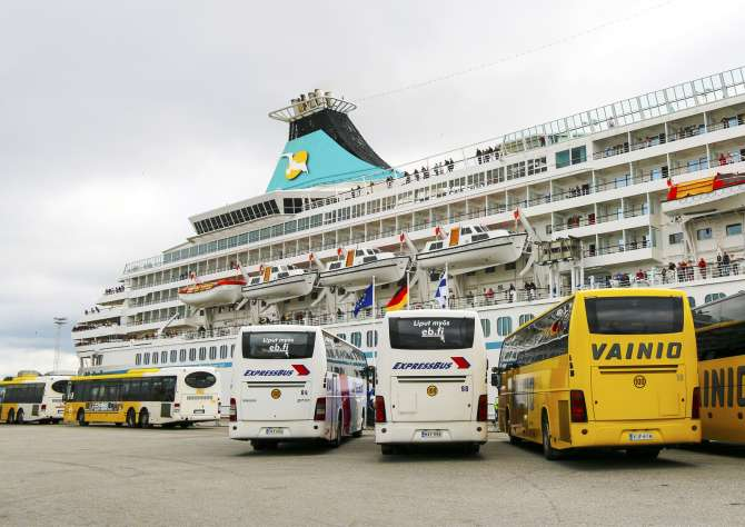 New cruise liners to visit Turku in the summer