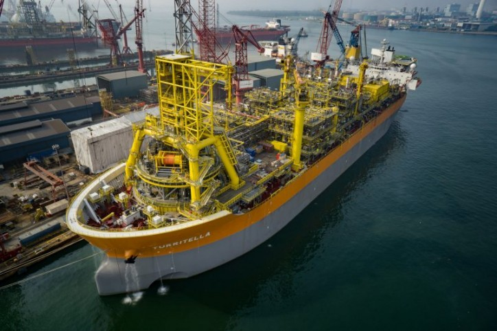 Shell Purchases Deep-Water Production and Storage Vessel