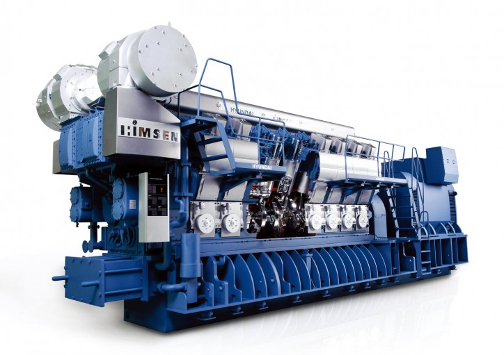 HHI Produces 10,000th HiMSEN 4-Stroke Marine Engine ...