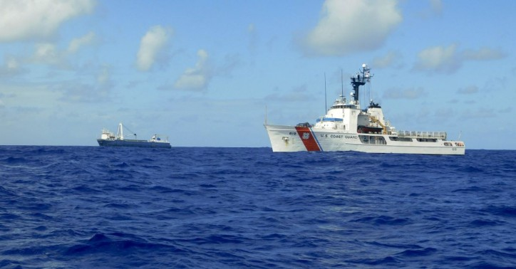 US Coast Guard rescues 10 crewmembers from disabled cargo ship in the middle of the Atlantic