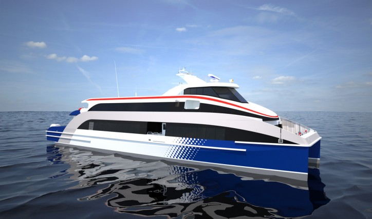 Damen delivers third Fast Ferry of the year to South Korean operators