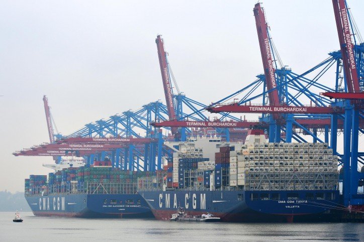 CMA CGM TANYA calls Hamburg for the first time – the ideal vessel for CMA CGM's EUROSAL XL service