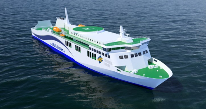 Deltamarin To Participate In Mols-Linien Ro-Pax Vessel Design