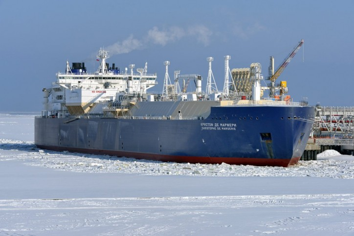 Total's ice-class LNG tanker Christophe de Margerie makes Arctic passage unaided