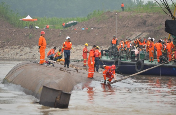 Update: Death toll from sunken Chinese ferry rises to 65, relatives demand answers