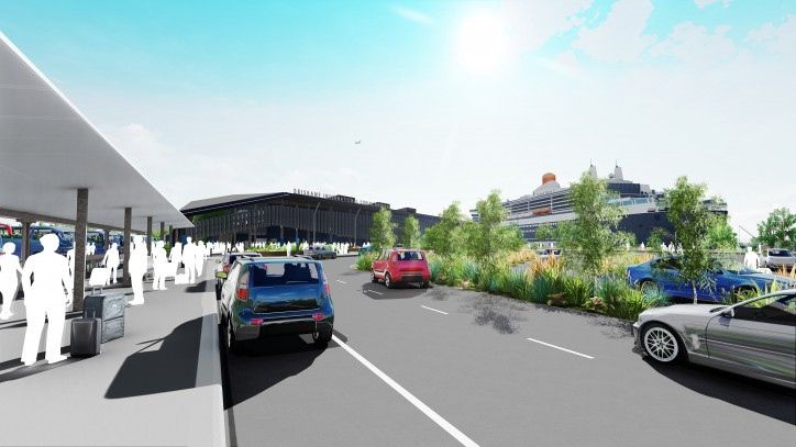 Brisbane Breaks Ground on New Cruise Ship Terminal (Video)
