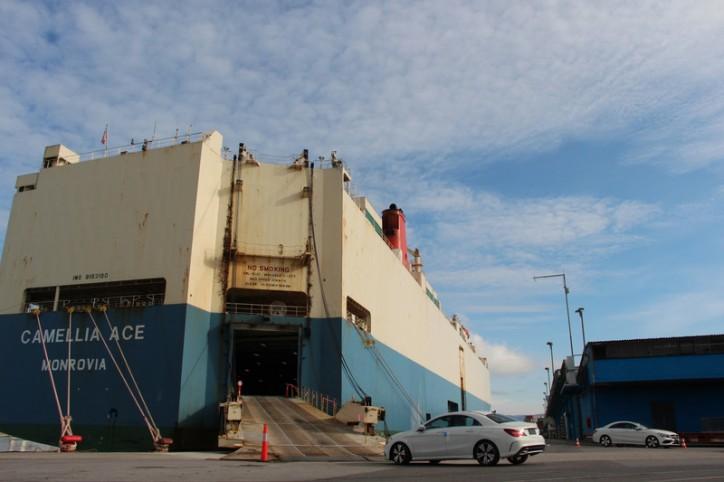 Daimler increases number of vehicles handled through Port of Koper