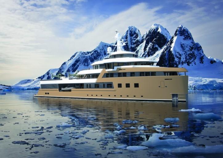 DAMEN lays keel for 77-metre DAMEN SeaXplorer expedition yacht