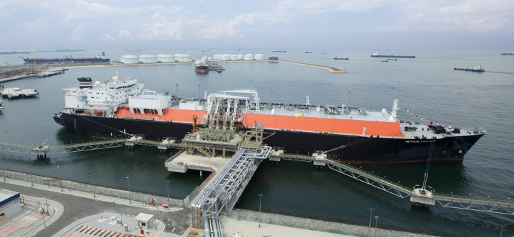 BG Group and Keppel to fuel ships with LNG in Singapore