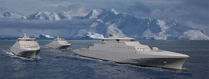 VARD secures contract for three Coast Guard Vessels for the Norwegian Materiel Agency