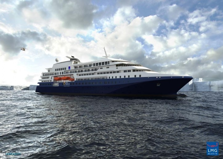 LMG Marin announces contract for its first polar expedition cruise ship