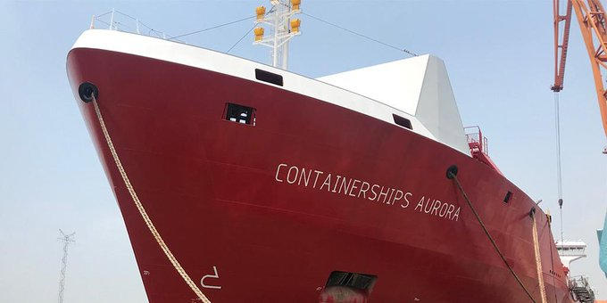 Containerships' third LNG-fueled vessel delivered