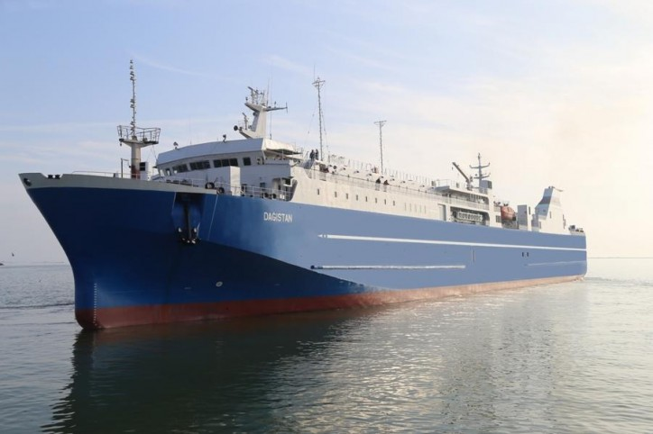 "Modernized ""Dagistan"" ferry passed sea trials successfully"