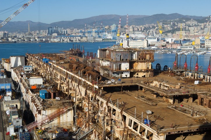 Costa Concordia Dismantling Completed in Italy