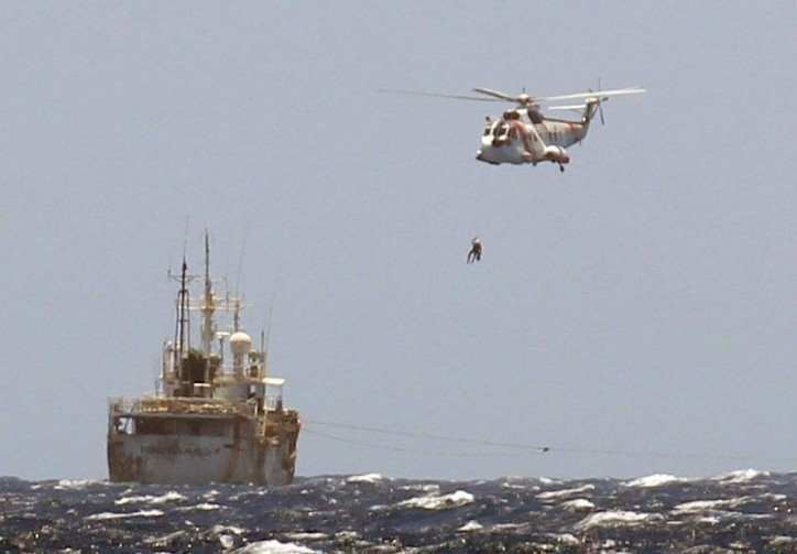 Three Spanish SAR boats, Punta Salinas, Luz de Mar and Guardamar Talía, together with helicopter Helimer 210 were dispatched to the site, following the Mayday call at 10.38 am LT