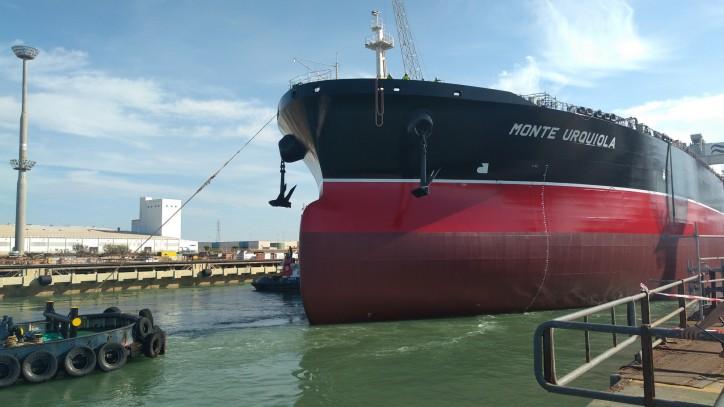 Navantia launches Suezmax tanker for Ibaizabal Group