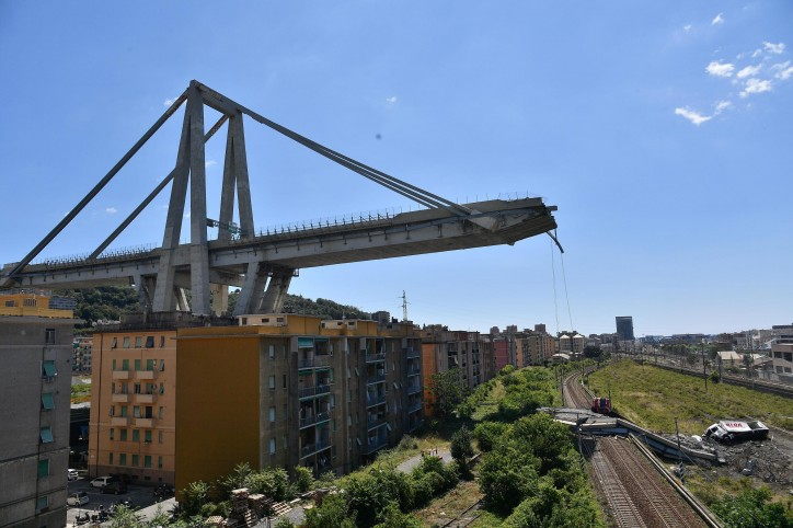Morandi Bridge Collapse Hit a Main Artery of one of Italy's Largest Ports – Genoa