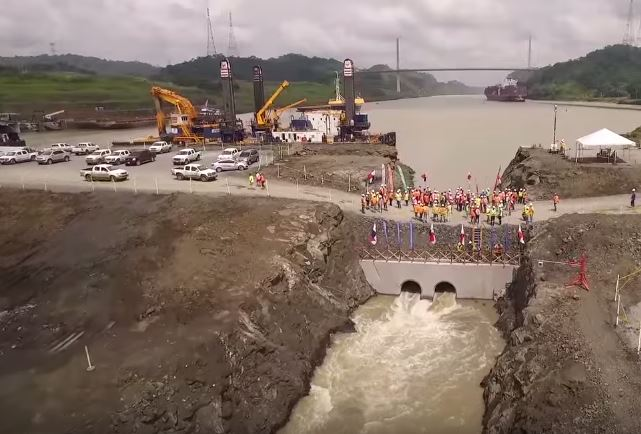 Panama Canal Expansion Progress Rapidly