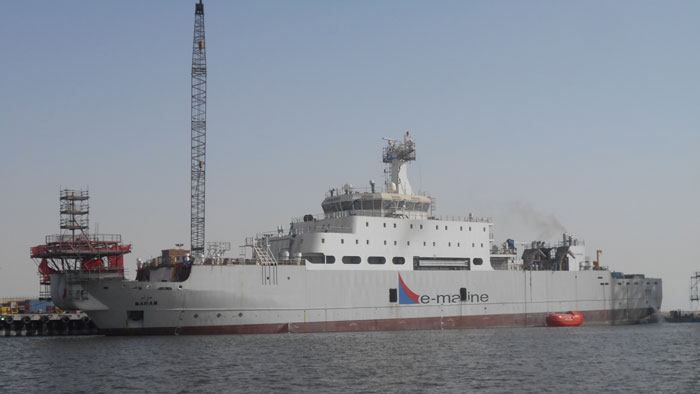 E-marine launches fifth cable-laying vessel in Dubai