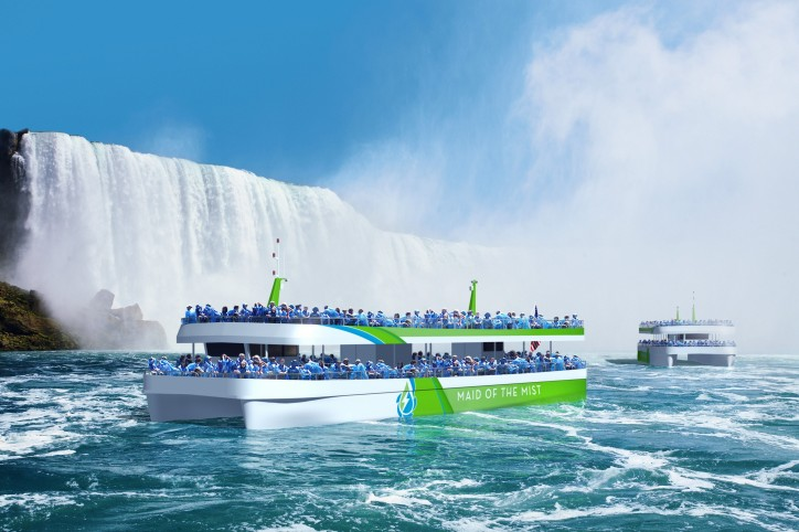 ABB Powers Tourists to the Niagara Falls with First US Built All-Electric Vessels