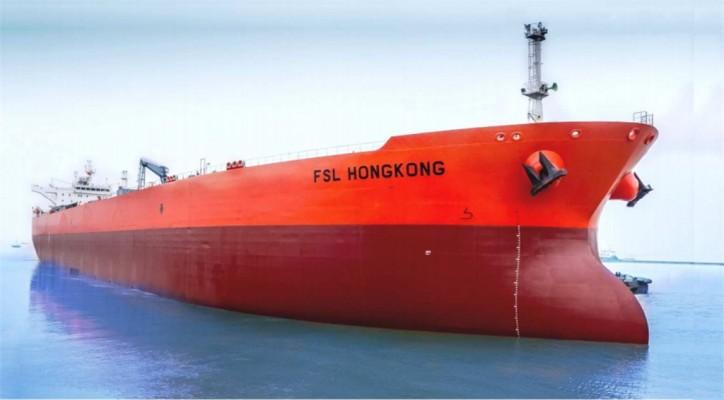 Aframax crude oil tanker FSL Hong Kong enters Teekay Revenue Sharing Agreement