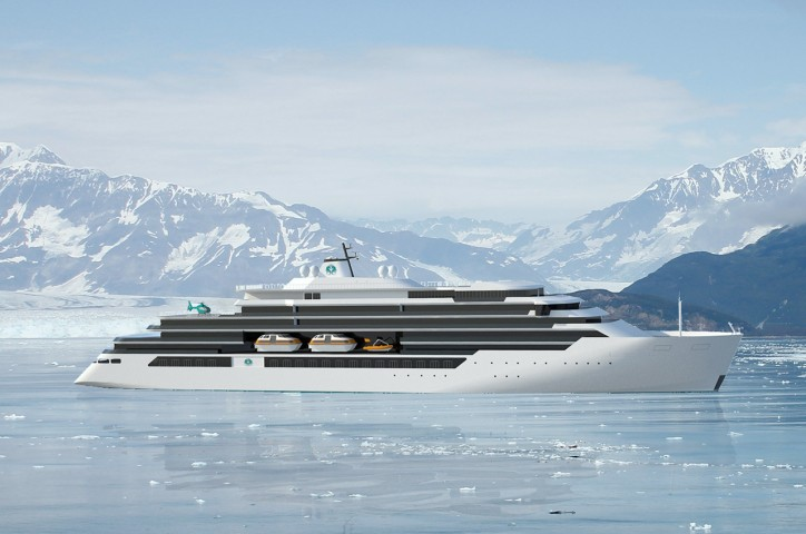 "MV WERFTEN awards classification of ""Endeavor"" expedition yachts to DNV GL"