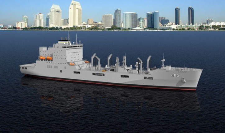 Rolls-Royce secures power and propulsion contract for US navy's new fleet replenishment ships